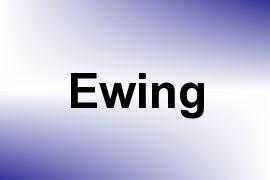 Ewing name image