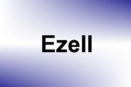 Ezell name image