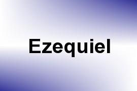 Ezequiel name image