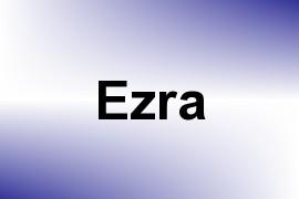 Ezra name image