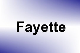 Fayette name image