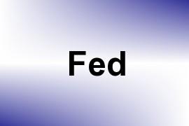 Fed name image