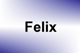 Felix name image