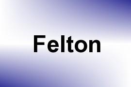 Felton name image