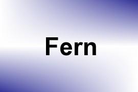 Fern name image