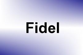 Fidel name image