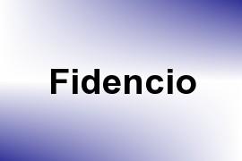 Fidencio name image