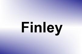 Finley name image