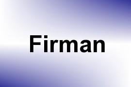Firman name image