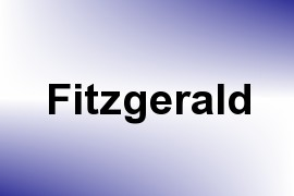 Fitzgerald name image