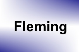 Fleming name image