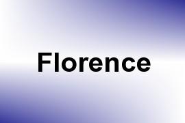 Florence name image