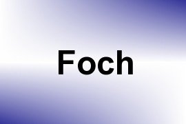 Foch name image