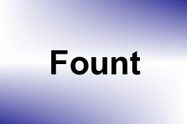 Fount name image