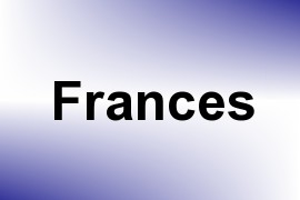 Frances name image