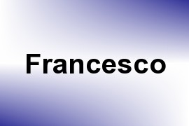 Francesco name image