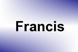 Francis name image