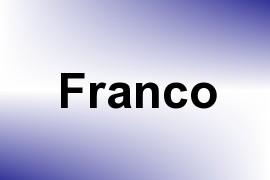 Franco name image