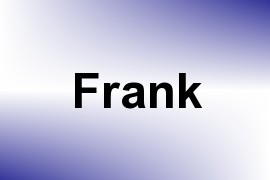 Frank name image