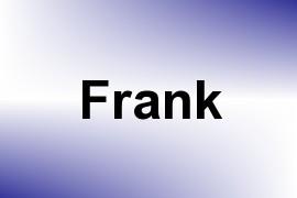 Frank name image