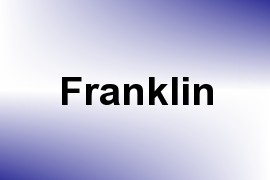 Franklin name image