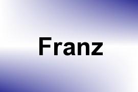 Franz name image