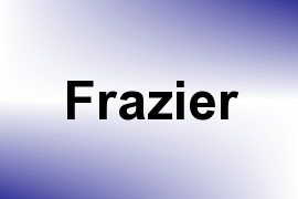 Frazier name image