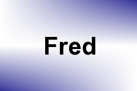 Fred name image