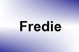 Fredie name image
