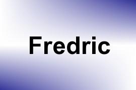 Fredric name image