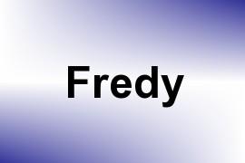 Fredy name image