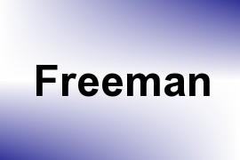 Freeman name image