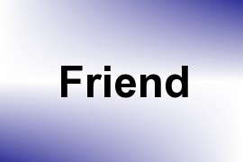Friend name image