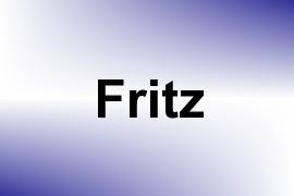 Fritz name image