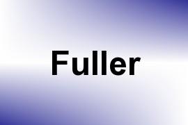 Fuller name image