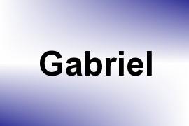 Gabriel name image