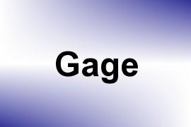 Gage name image