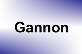 Gannon name image
