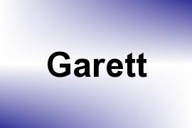 Garett name image