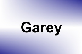 Garey name image