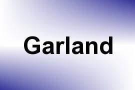 Garland name image