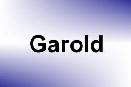 Garold name image