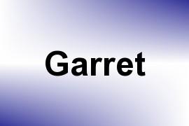 Garret name image