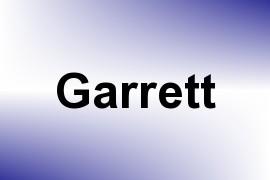 Garrett name image