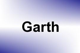 Garth name image