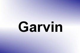 Garvin name image