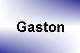 Gaston name image