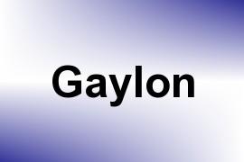 Gaylon name image