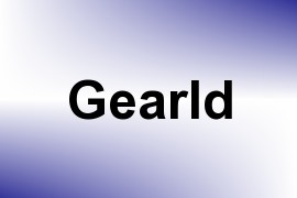 Gearld name image