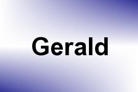 Gerald name image